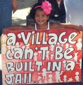 A village can't be built in a jail